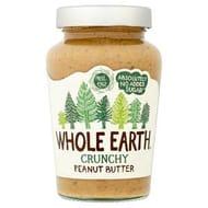 Whole Earth Crunchy Peanut Butter 454g