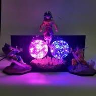 Dragon Ball Z Goku Vegeta vs Broly Led Lamp