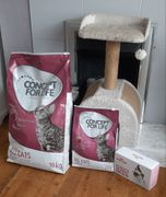 Free 3kg Quality Concept for Life Cat Food Bag & Royal Canin Kitten Food Box