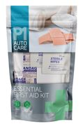 P1 Autocare Essential First Aid Kit 15pc - Only £1!