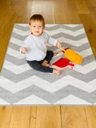Nursery Rug 100 X 150cm with Latex Backing Only £9.99