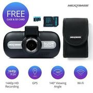 "Nextbase 512GW Video Recording Night Vision 1440p 3"" Dash Cam Bundle 8GB SD Card"