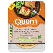 Quorn Vegetarian Turkey & Stuffing Slices 170g