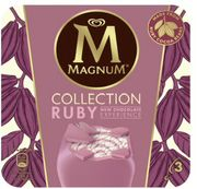 Magnum Ruby Ice Cream 3 X 90 Ml (Why Not Suns Out)