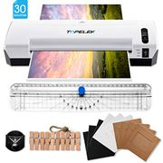 TOPELEK A4 Laminator, 5 in 1 Thermal Laminating Machine, 2 Roller Hot
