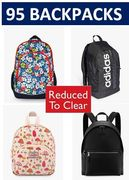 95 BACKPACKS - REDUCED to CLEAR, from £10