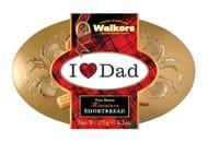 I Love Dad' Miniatures Shortbread Tin