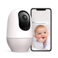 Nooie Baby Monitor, WiFi IP Camera 1080P Indoor Home Security Camera. PET TOO.