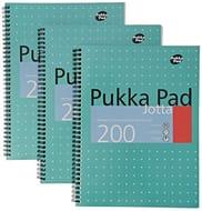 Pukka Pads A4 Metallic Jotta Wirebound Notebook Only £6.89
