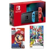 NINTENDO Switch, Super Smash Bros. Ultimate & eShop Gift Card Bundle