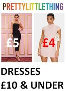 Special Offer - DRESSES £10 & UNDER - at Pretty Little Thing - from £4