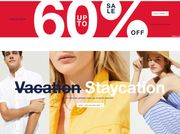Up to 60% off Sale at Gap!