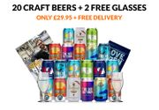 Cheap Craft Beer Box with Freebies Only £29.95!