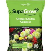 Best Price! Vital Earth Supagrow Organic Garden Compost Soil Improver