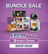 *SAVE over £90* Dolce Gusto Mini Me + 8 Packs of Pods