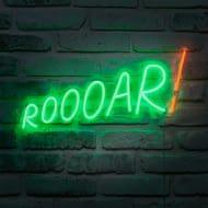 Roar Neon Wall Light