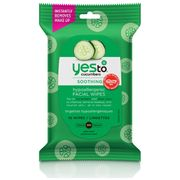 Say YES to Cucumber Hypoallergenic Refreshing Face Wipes Code MANKIND15