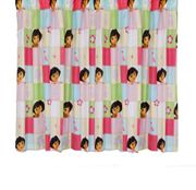 Character World Dora the Explorer Buttons 54-Inch Curtains