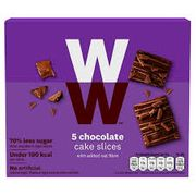 Weight Watchers Chocolate Cake Slices