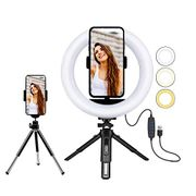 Mobile Phone Stand- Selfie Light Ring Tripod