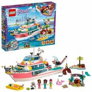 LEGO Friends Rescue Mission Boat Toy Sea Life Set with £20 discount - Great buy!