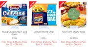 Fish, Chips & Mushy Peas for £5 - ONLINE EXCLUSIVE