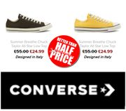 CONVERSE SALE - up to 60% OFF Converse