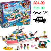 LEGO FRIENDS Lego Friends Rescue Mission Boat