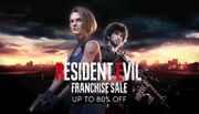 Resident Evil Franchise Weekend - up to 80% OFF