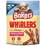Bakers Whirlers Bacon & Cheese Flavour (6 X 130g Bags)