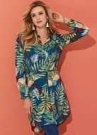 Rainforest Shirt Dress