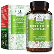 Apple Cider Vinegar 1000mg - 180 Vegan Capsules - 90 Day Supply