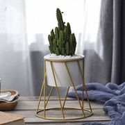 Twisted Planter - Gold