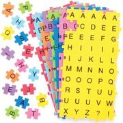 Self-Adhesive Foam Jigsaw Puzzle Letters