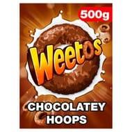 Weetabix Weetos Chocolatey Cereal 500G
