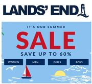 LANDS END SUMMER SALE - up to 60% off Clothes, Shoes & Boots