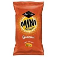 Cheap Jacobs Mini Cheddars Original 6X25g - Only £1!