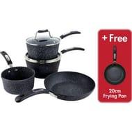 Scoville Neverstick 5 Piece Cookware & Pan Set 5pce - Save £30