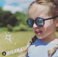 Win a pair of Classic Flexi glasses (Matte black mirror)