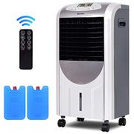 COSTWAY 5 in 1 Compact Air Cooler   Heater   Humidifier   Fan   Purifier,