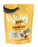 CHEAP! Wagg Peanut Butter and Banana Cookie Treats, 125 G, Pack of 7