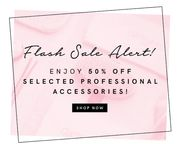 Flash Sale Alert - Enjoy 50% off Selected Professional Accessories!