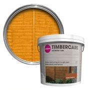 Colours Timbercare Golden Chestnut Fence & Shed Wood Stain, 5L