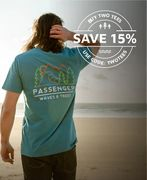 Passenger Clothing - save 15% When You Buy 2 or More