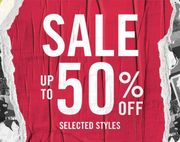 Up to 50% off Selected Styles at Dr Martens