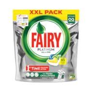 Fairy Platinum Dishwasher Capsules 65s
