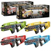 Laser Combat X-2000 4 Player Laser Tag Set