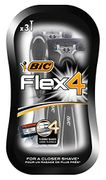 BIC Flex 4 Comfort Men's Razors - Pack of 3