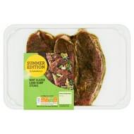 Sainsbury's Mint Glazed Lamb Rump Steaks, Summer Edition 300g