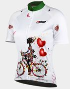 Over 50% off 21Grams Women's Short Sleeve Cycling Jersey